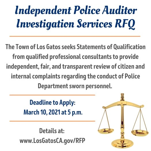 Independent Police Auditor Investigation Services Request for Qualifications