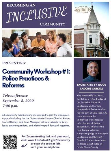Community Workshop #1