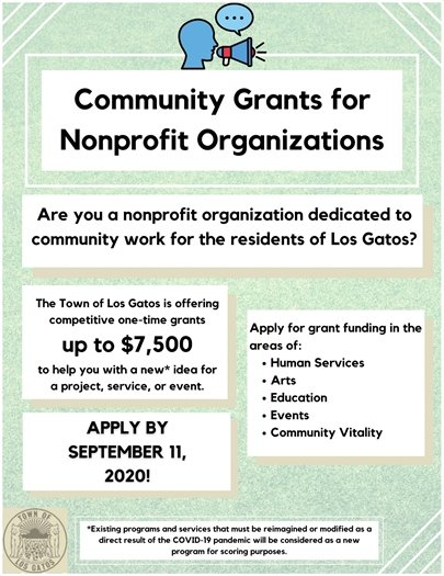 Nonprofit Organization Grants