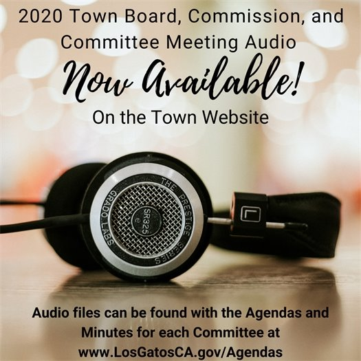 2020 Town Board, Commission & Committee Audio Now Available on the Town website
