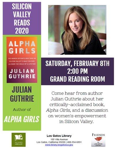 Silicon Valley Reads - Julian Guthrie Alpha Girls