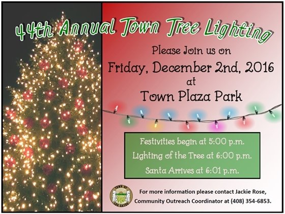 44th Annual Town Tree Lighting