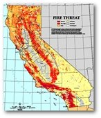 Fire Threat Map