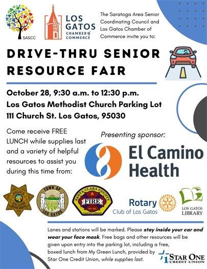 Drive-Thru Senior Resource Fair