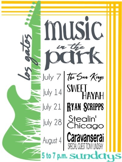 Music in the Park Schedule