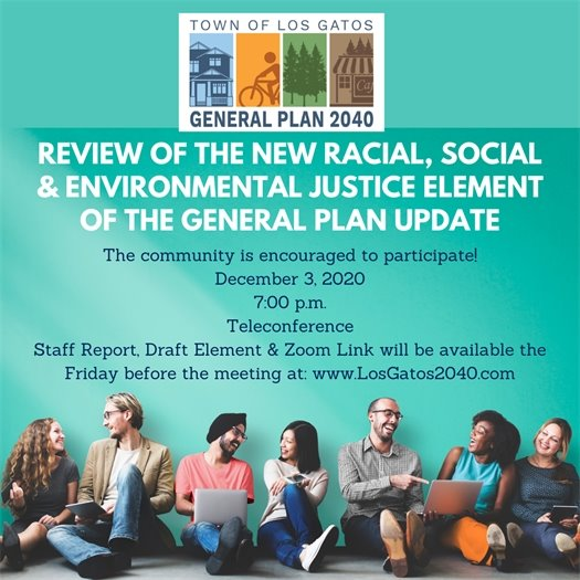 Racial, Social & Environmental Justice Element
