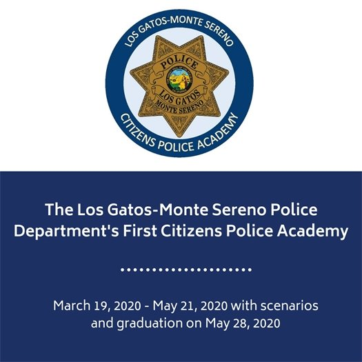 Los Gatos-Monte Sereno Police Department's First Citizens Police Academy