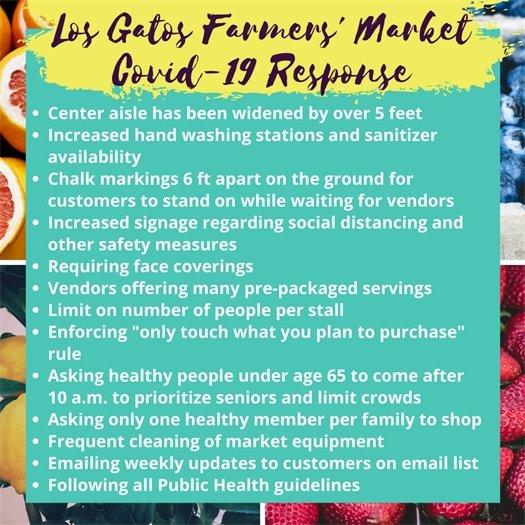Los Gatos Farmers' Market COVID-19 Response