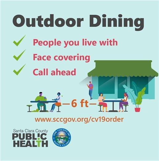 Santa Clara County Outdoor Dining Guidelines