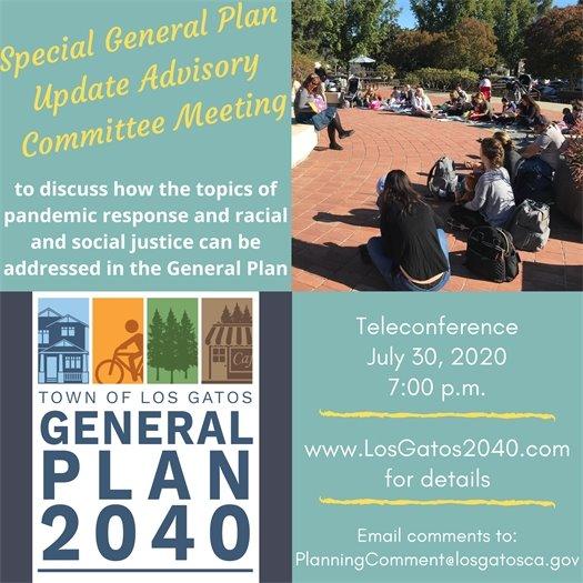 Special General Plan Update Advisory Committee Meeting