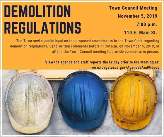Demolition Regulations