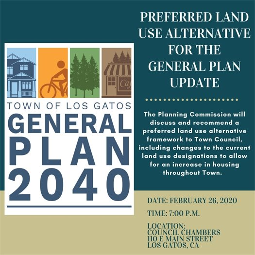 Preferred Land Use Alternative for the General Plan Update