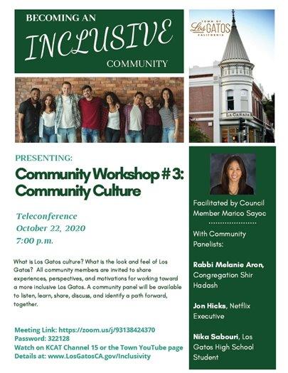 Community Workshop #3