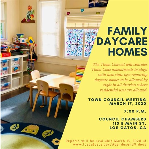 Family Daycare Homes