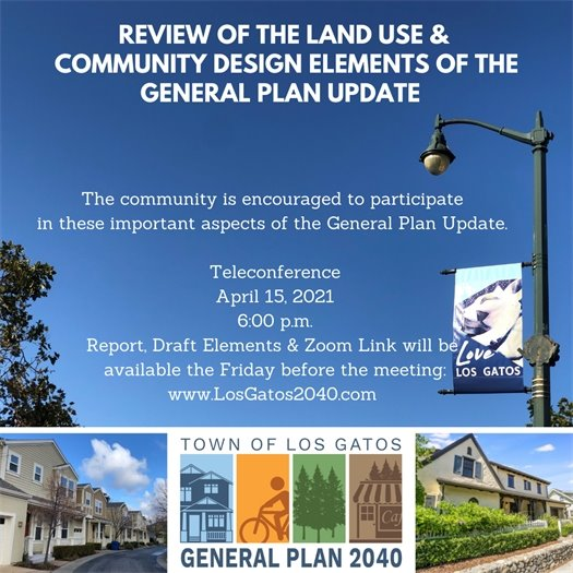 Review of the Land Use & Community Design Elements of the General Plan Update