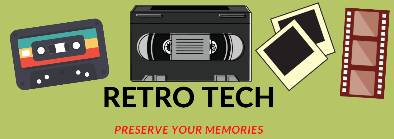 Retro tech preserve your memories