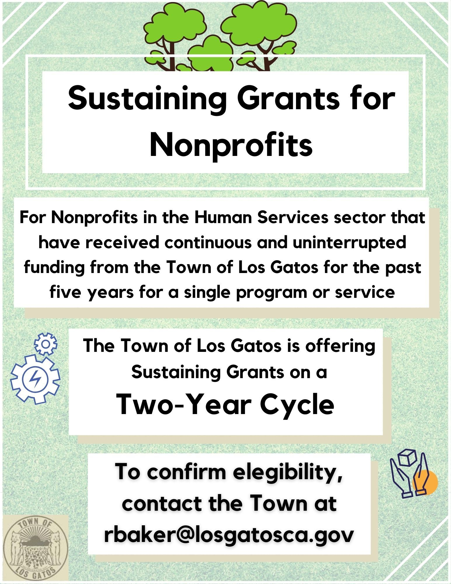 Sustaining Grants  Opens in new window